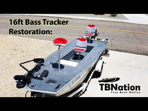 PART 2: Bass Tracker Boat Restoration - Build Specifics. 16 foot ...