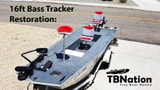 PART 2: Bass Tracker Boat Restoration - Build Specifics. 16 foot aluminum TRACKER hull