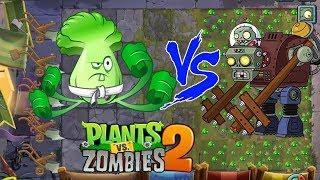 Plants Vs Zombies 2 Battlez Hack - Bonk Choy vs all Zombies
