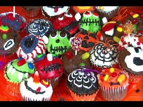 cute easy to make halloween cupcakes