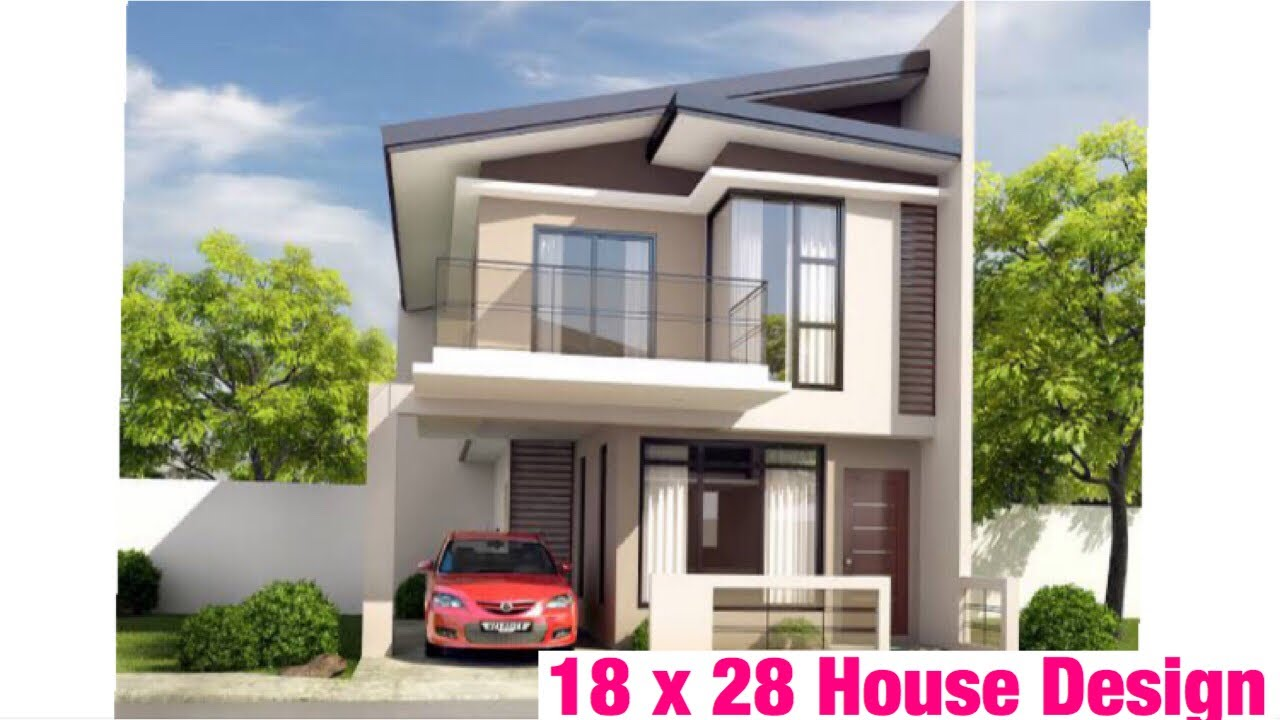 18 X28 5m X 8m House Design Plan Map 1bhk 50 Gaj Ghar Ka Naksha Interior And 3d View