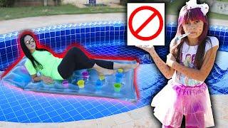 REGRAS DE CONDUTA para ADULTOS e CRIANÇAS na PISCINA ! (Rules of Condut for Children)  Biankinha