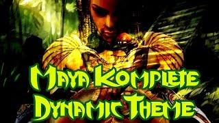 Repeat youtube video Maya Komplete Dynamic Theme - Killer Instinct Soundtrack