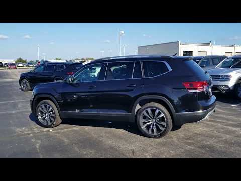 "2019 VW Atlas 3.6 SEL Premium 4Motion w/ captain's chairs and 21"" wheels"