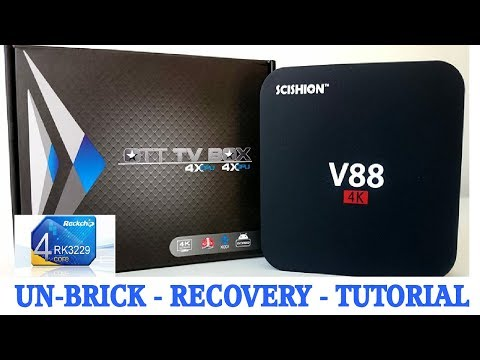 TUTORIAL (Rockchip): Schishion V88 RK3229 Recovery Guide – The MXQ