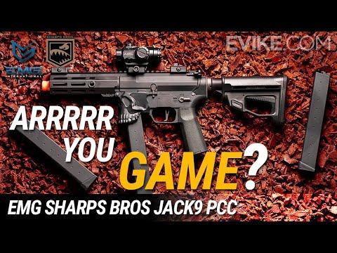 ARRRRR You Game!? - EMG Sharps Bros Jack9 PCC AEG - Review