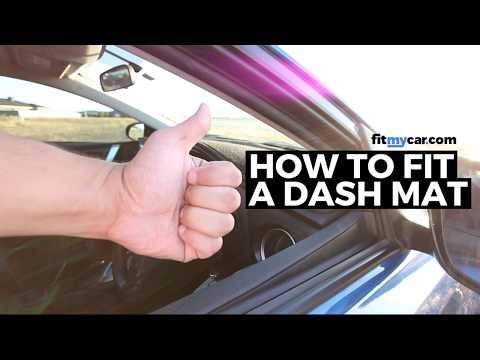 How To Fit A Dash Mat - FitMyCar.com