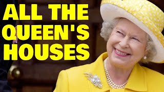 A Look Inside the Queen's 6 Lavish Royal Residences