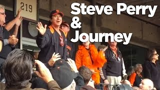 Steve Perry Reunites With Journey At Giants Game? Don