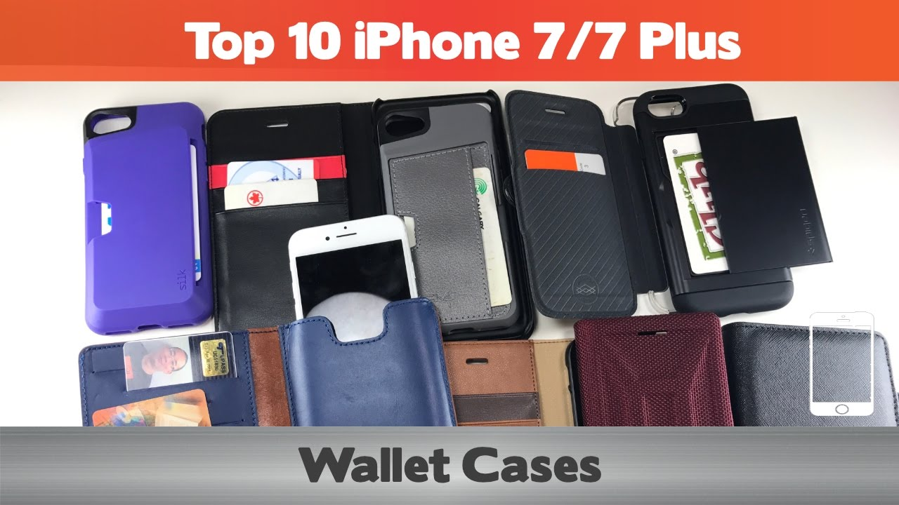 on sale e670c 84416 Top 10 iPhone 7 Wallet Cases - Do you need a full wallet replacement or  something on the go?