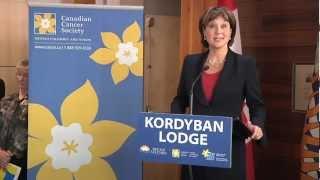 Premier Clark officially opens the Kordyban Lodge