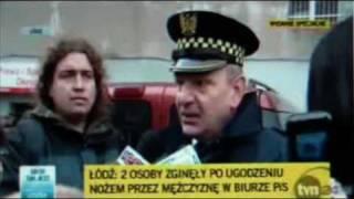 Strażnicy Miejscy ujęli zabójcę w biurze poselskim PiS.