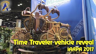 Time Traveler ride vehicle reveal at IAAPA 2017 - coming to Silver Dollar City