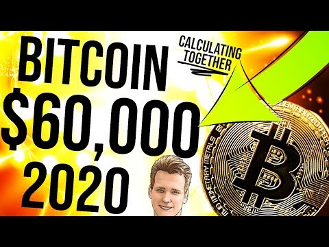 🚨 BITCOIN $60K - By 2020 Calculation 📈 Stock to Flow, Regression, R2 - Programmer explains