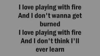 The Runaways - I love playing with fire lyrics on screen
