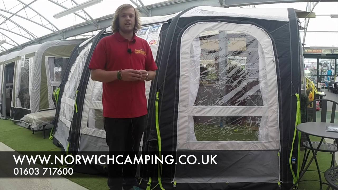 Kampa Ace Air Pro 300 400 Amp 500 Awning 2017 Youtube