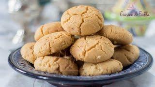 Ghriba Bahla , Moroccan Cookies , غُريبة البهلة