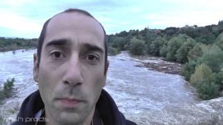 Vidéo de la crue de l'Hérault, le 18/09/2014