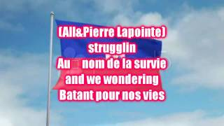 Young Artists For Haiti-Waving Flag