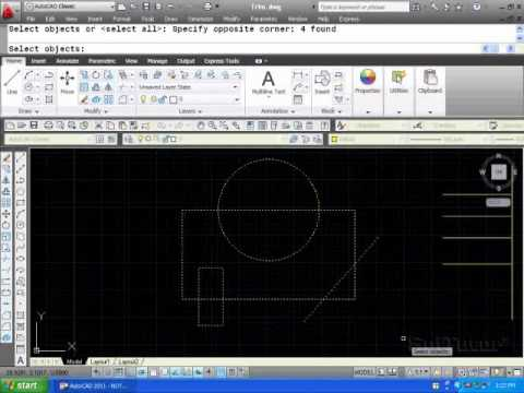 AutoCAD 2D - Trim Command