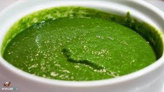 485 - Salsa di basilico..e ti viene anche il fisico! (salsina vegan estiva per condire molti piatti)