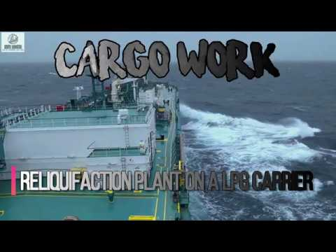 GAS CARRIERS: RELIQUIFACTION PLANT ON GAS CARRIER | GAS CARRIER BASICS | AHOY! NAVIGOS