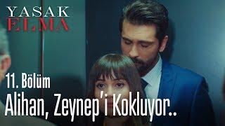Alihan, Zeynep'i kokluyor.. - Yasak Elma 11. Bölüm