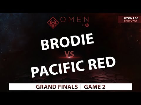 Brodie vs Pacific Red | Game 2  | Omen by Hp Esports Tour Metro Manila