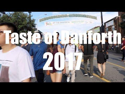 Taste of Danforth 2017