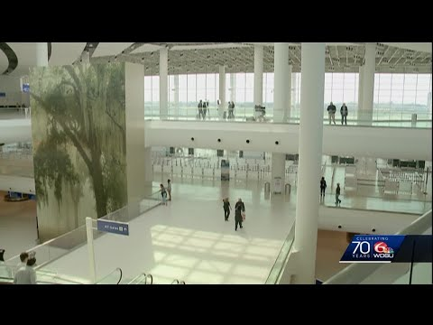 Cutting The Ribbon On New Orleans New Billion Dollar Airport