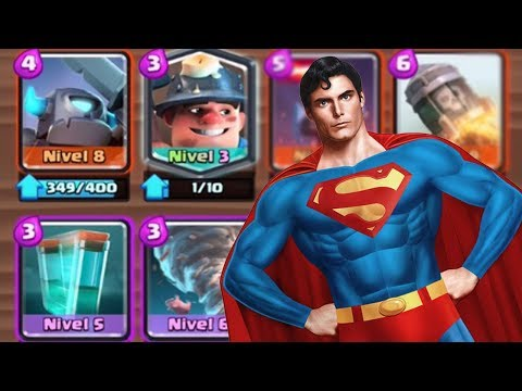 LA BARAJA DE SUPERMAN | CLASH ROYALE