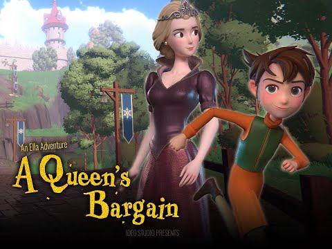 Download A Queen's Bargain 👑 Ella's Magic Land 🏰 Kids Movies | Animation Movies | Animation Short Film