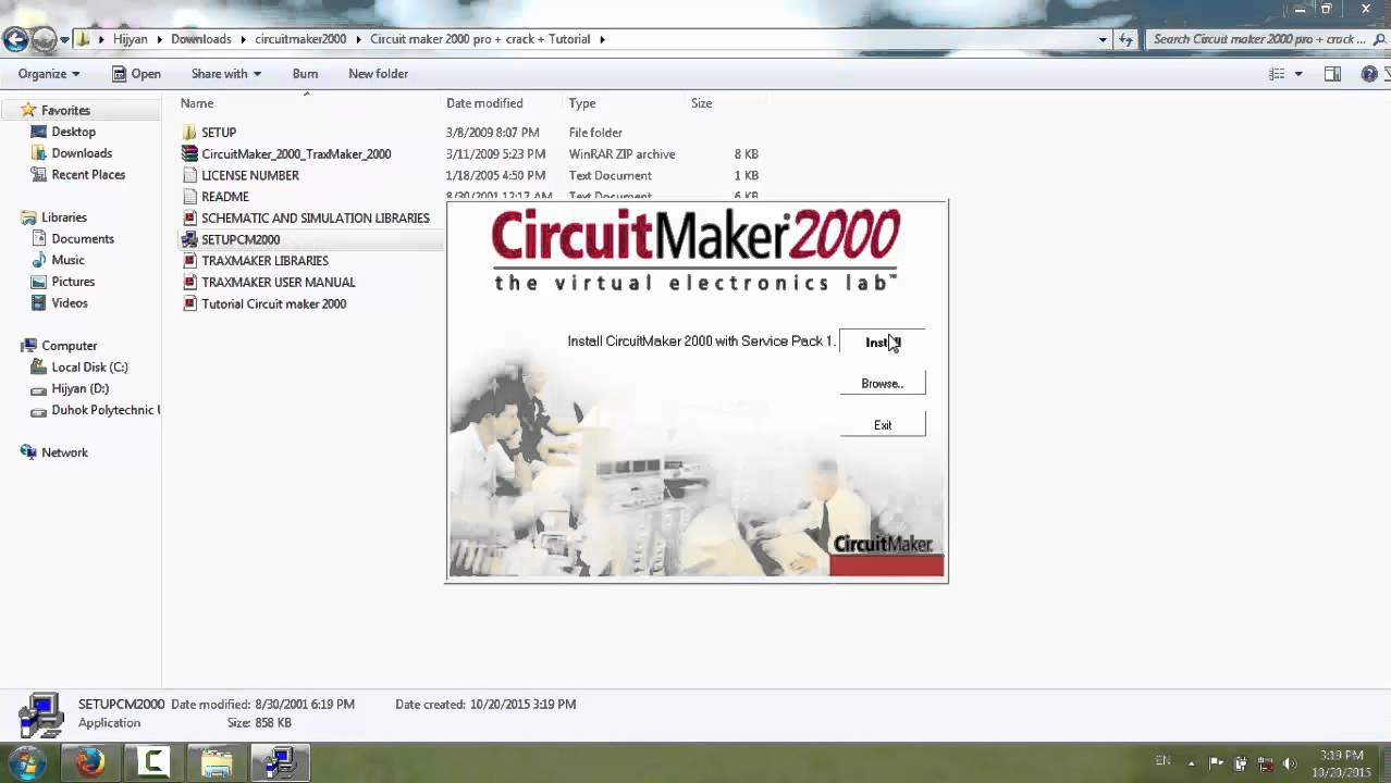 How To Download And Install Circuit Maker 2000 Youtube Schematic Pcb