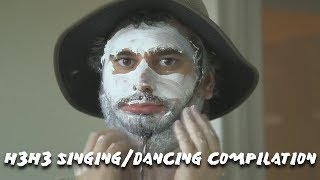 H3H3 SINGING/DANCING COMPILATION!! h3h3productions