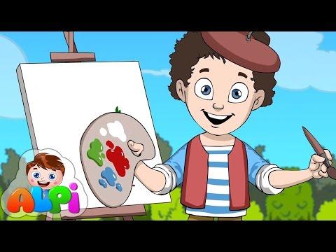 Renkler Şarkısı (Ben Bir Küçük Ressamım) | Okul Öncesi Çocuk Şarkıları