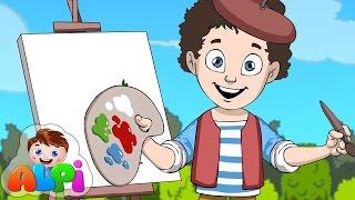 Renkler Şarkısı (Ben Bir Küçük Ressamım) | Okul Öncesi Çocuk Şarkıları 2016