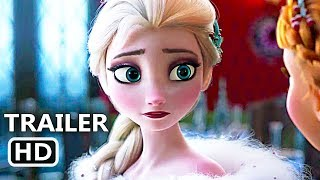 OLAF'S FROZEN ADVENTURE Movie Clip + Trailer (2017) Disney Frozen Short Film
