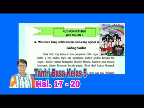 Uji Kompetensi Wulangan 1 Tantri Basa Kelas 5 Hal 17 20 Youtube