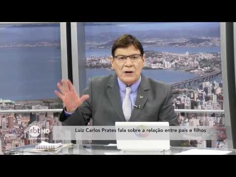 Luiz Carlos Prates fala sobre a relação entre pais e filhos