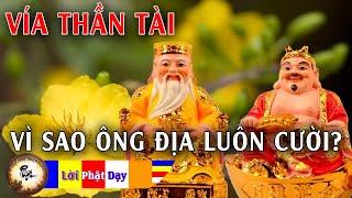 Nhà Ai có THẦN THỔ ĐỊA nên nghe 1 lần - Vì Sao Ông Địa Luôn Cười | Truyện Ngắn Phật Giáo hay nhất