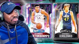 GLITCHED POINT GUARD GIANNIS PACK OPENING! NBA 2K20 My Team Gameplay Ep 7