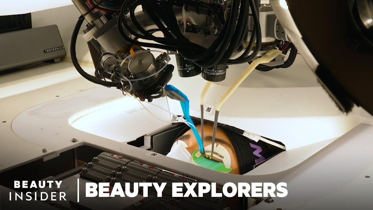 Robot Applies Eyelash Extensions   Beauty Explorers