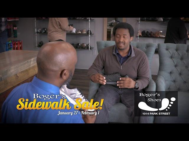 BOGER'S SHOES Sidewalk Sale 2020