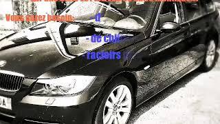 Changement joint supérieur pare brise BMW série 3 E90 E91