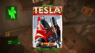 fallout 4 endurance bobblehead and tesla science magazine poseidon energy
