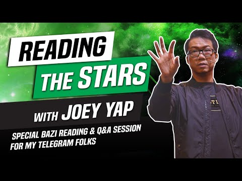 Reading The Stars With JY And Beginner's BaZi Reading Lessons