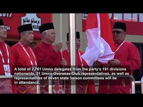 71st Umno General Assembly kicks off with pomp, pageantry at PWTC