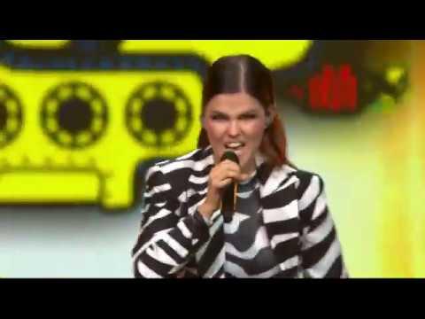 Saara Aalto - Monsters/Wild Wild Wonderland LIVE (Elämä Lapselle 2018 at Hartwall Arena) Mp3