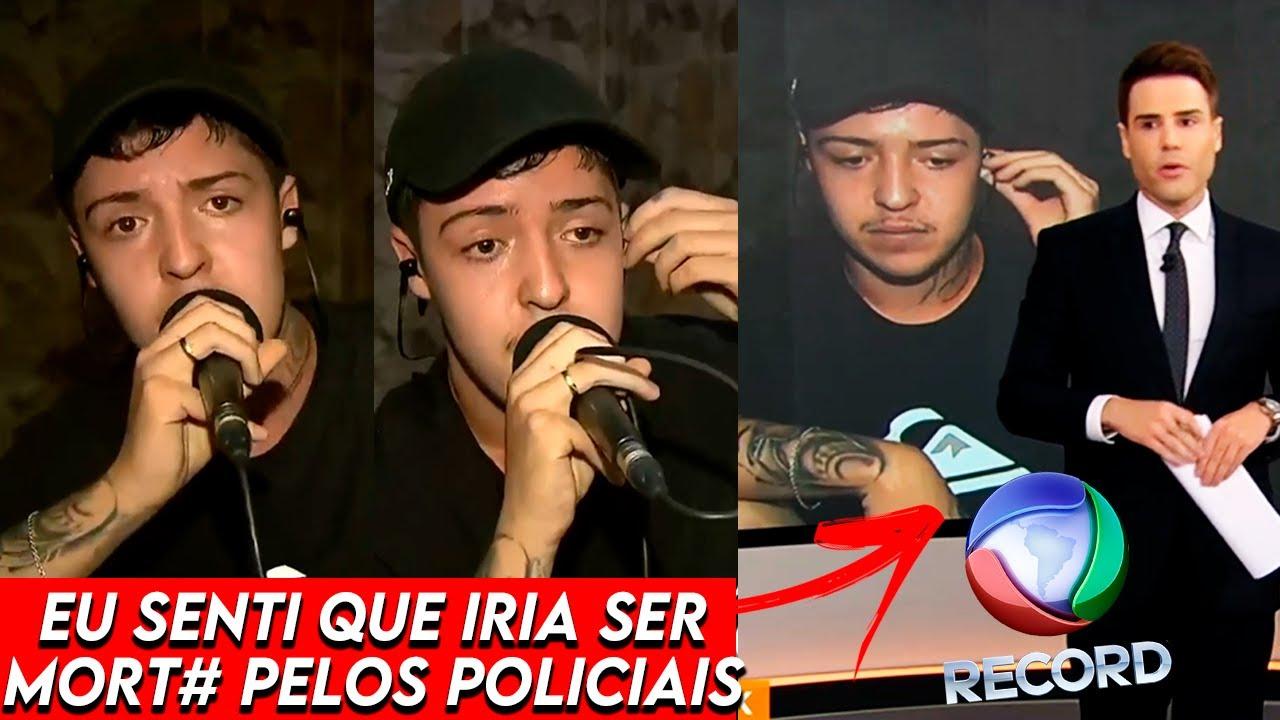 EXCLUSIVO! SALVADOR FALA AO VIVO NA TV RECORD SOBRE TUDO O QUE ACONTECEU