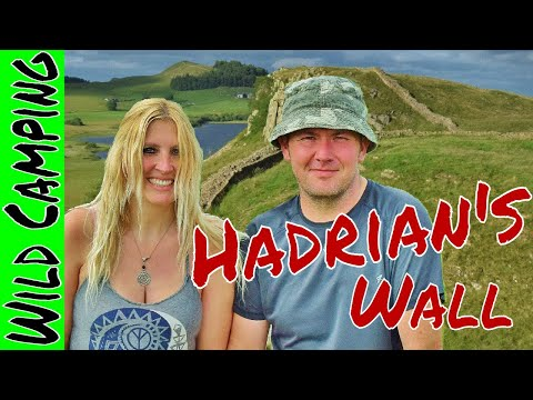 'Hadrian's Wall' 3 day Wild Camp & Zoe's dip in the lake incident....